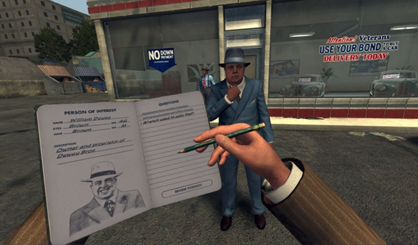 Lista completa de requisitos de LA Noire The VR Case Files.