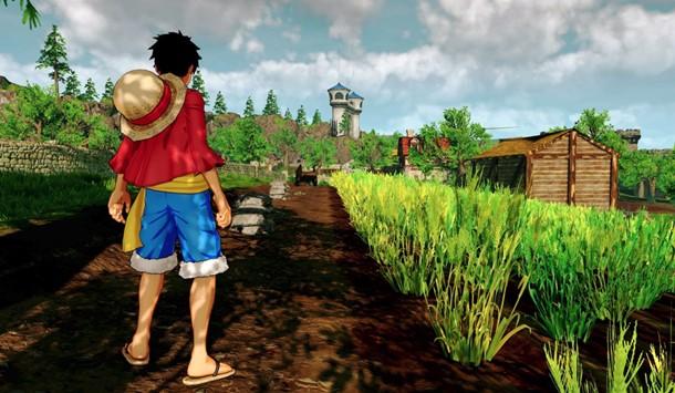 Captura de One Piece World Seeker para PC.