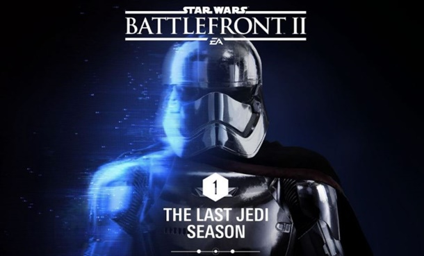 Disfruta de The Last Jedi Season en Star Wars Battlefront 2.
