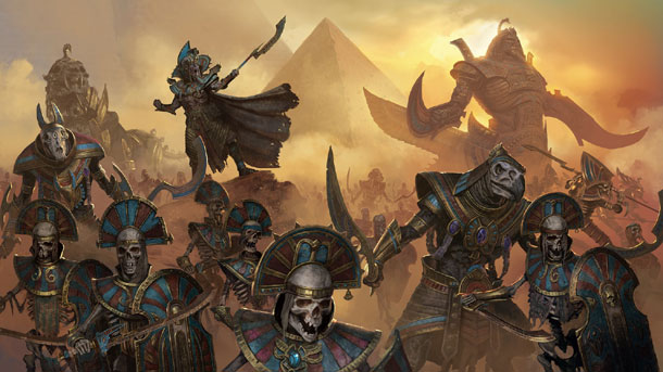 Rise of the Tomb Kings para Total War Warhammer II