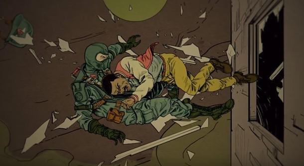 Tráiler de Wolfenstein 2 Las Aventuras de Joe el Pistolero.