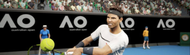 gameplay de AO Tennis