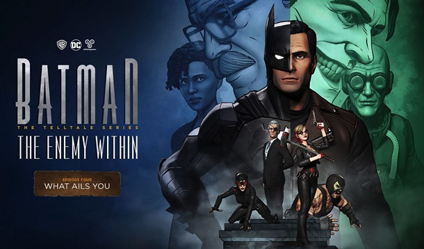 Título y fecha de lanzamiento del cuarto episodio de Batman The Enemy Within de Telltale Games.