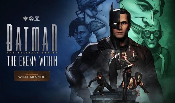 Título y fecha de lanzamiento del cuarto episodio de Batman The Enemy Within de Telltale Games.