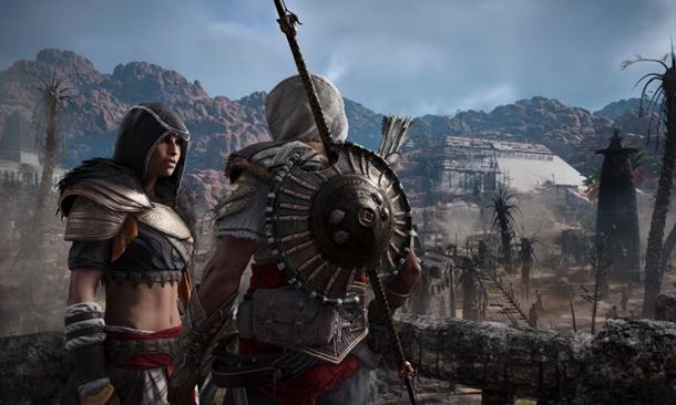 Imagen de Los Ocultos, la primera de las expansiones de Assassin's Creed Origins.