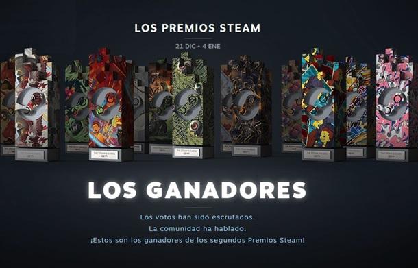 Anunciados los ganadores de los Premios Steam 2017 justo antes del final de las rebajas.