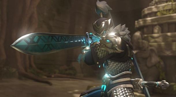"""Genji estrena el skin """"Baihu"""" o """"Tigre Blanco"""" con motivo del evento del Año del Perro en Overwatch."""
