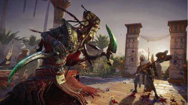 Nuevos enemigos en Assassin's Creed Origins La Maldición de los Faraones.