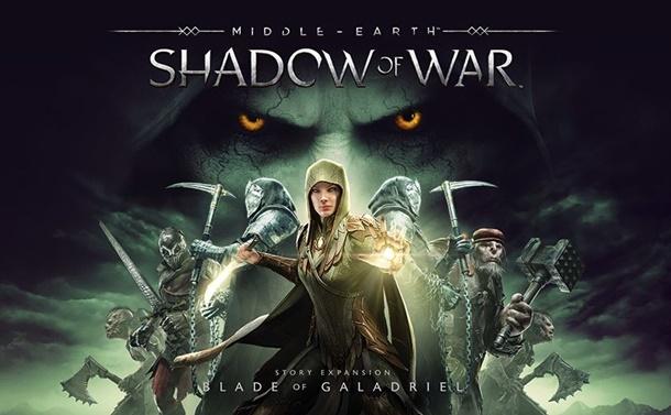 Disponible La Espada de Galadriel para La Tierra Media: Sombras de Guerra en todas las plataformas.