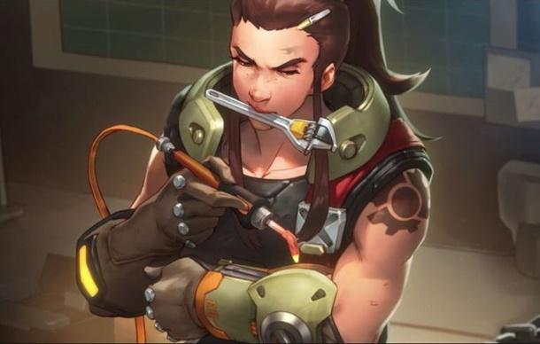 Blizzard presenta a Brigitte como nueva heroína de Overwatch.