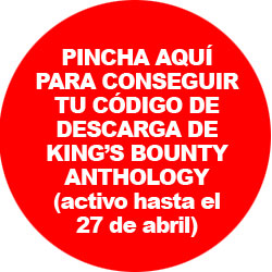 Pincha para solicitar tu código de descarga de King's Bounty Anthology