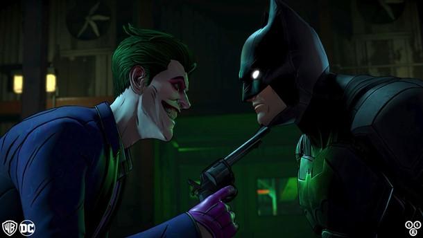 Podremos desbloquear dos versiones muy diferentes de Joker en el final de Batman The Enemy Within.