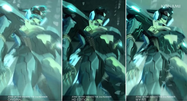 Comparativa de Zone of the Enders The 2nd Runner Mars en PC.