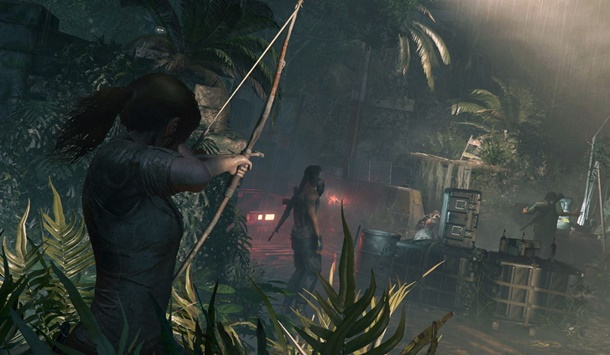 Así es el combate en Shadow of the Tomb Raider.