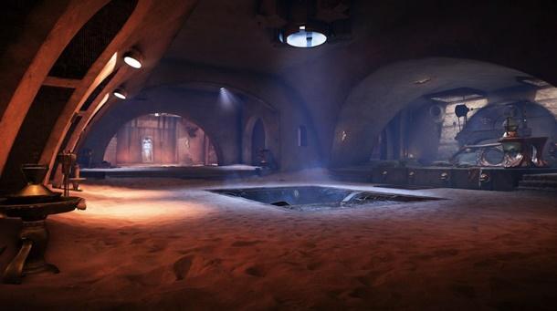 El Palacio de Jabba es una de las novedades de la Temporada de Han Solo en Battlefront 2.
