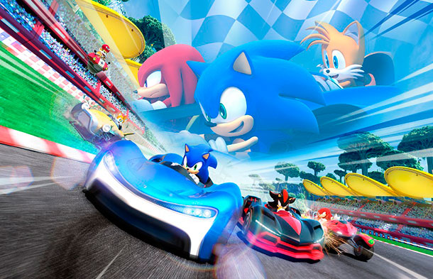tráiler de Team Sonic Racing
