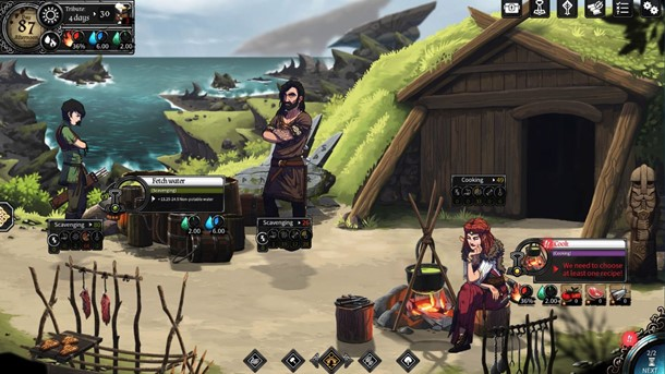 Disponible la demo de Dead In Vinland en Steam.