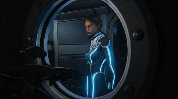 Mirai es la protagonista de Beyond Blue para PC.