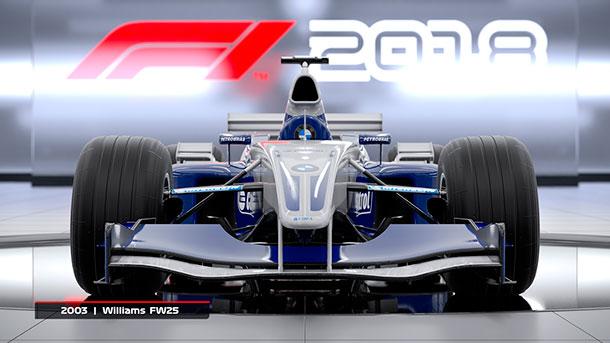 tráiler de F1 2018