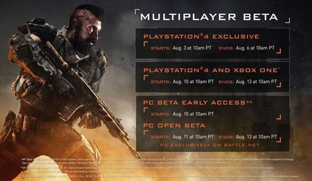 Treyarch habla sobre la beta de Call of Duty Black Ops 4.