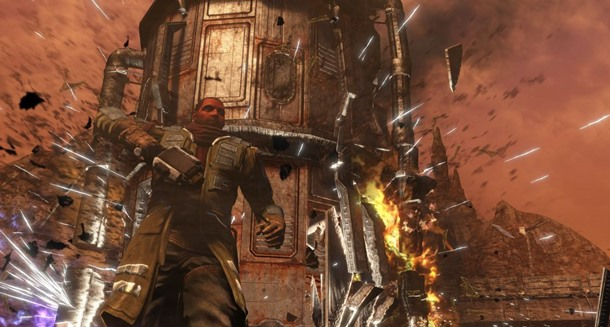 Ya disponible Red Faction Guerrilla Re-Mars-tered a un precio promocional.