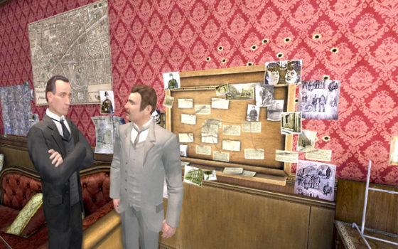 Sherlock Holmes Anthology de regalo