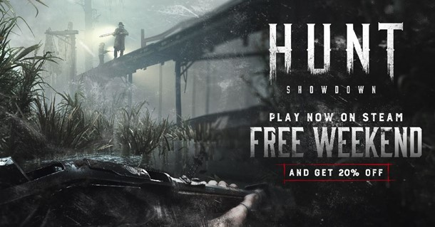 Hunt Showdown gratis en Steam.