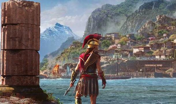 Nuevas imágenes de Assassin's Creed Odyssey en la Gamescom 2018.