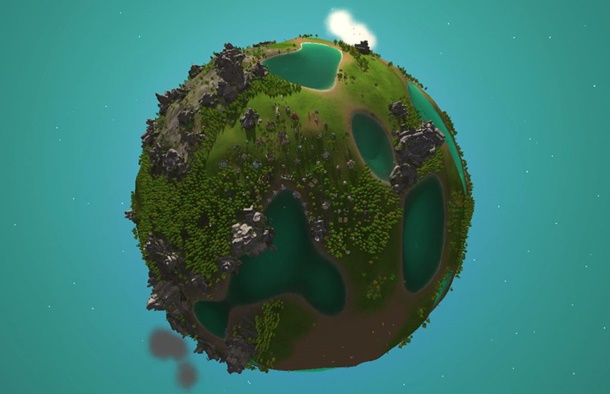 Crytivo ha anunciado que ya está disponible The Universim.