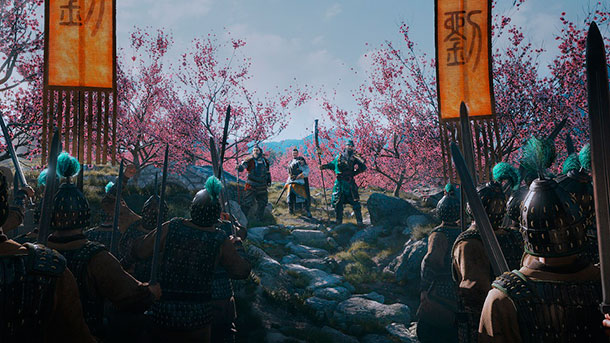 mapa de Total War: Three Kingdoms