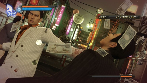 Disponible Yakuza 0 en Steam.