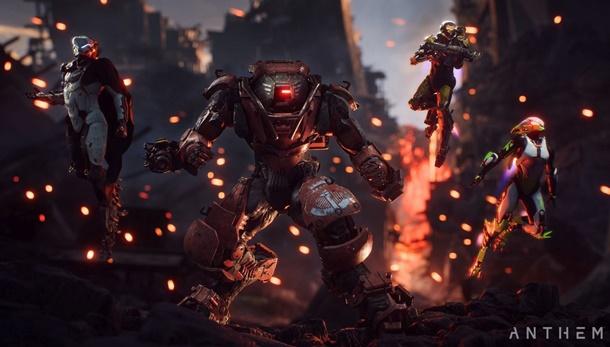 Nuevas imágenes de Anthem de gameplay.