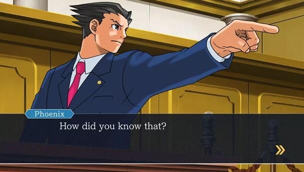 Anunciado el lanzamiento de Phoenix Wright Ace Attorney en PC.