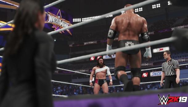 Ya puedes ver nuevas imágenes de gameplay de WWE 2K19.