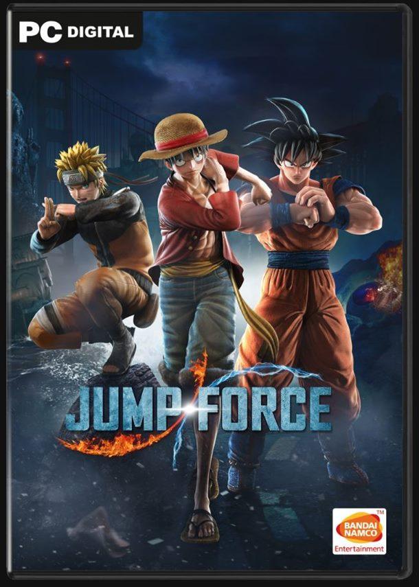 El lanzamiento de Jump Force será en febrero, con esta portada.