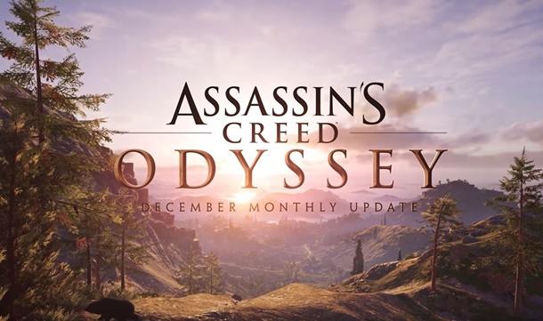 Actualización de diciembre en Assassin's Creed Odyssey ya disponible.