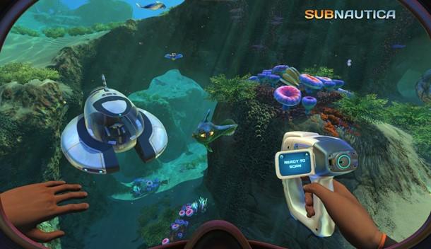 Consigue Subnautica gratis en Epic Games Store.