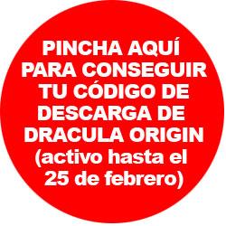 Consigue tu código de descarga de Dracula Origin