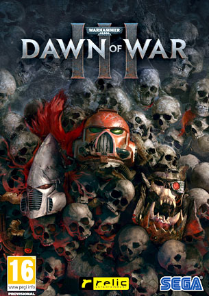 La carátula de Dawn of War III