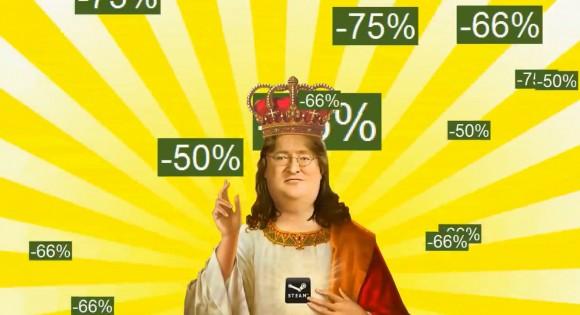 Esta imagen tiene tantos usos que nos resulta imposible no utilizarla cada vez que hablamos de las ofertas de Steam