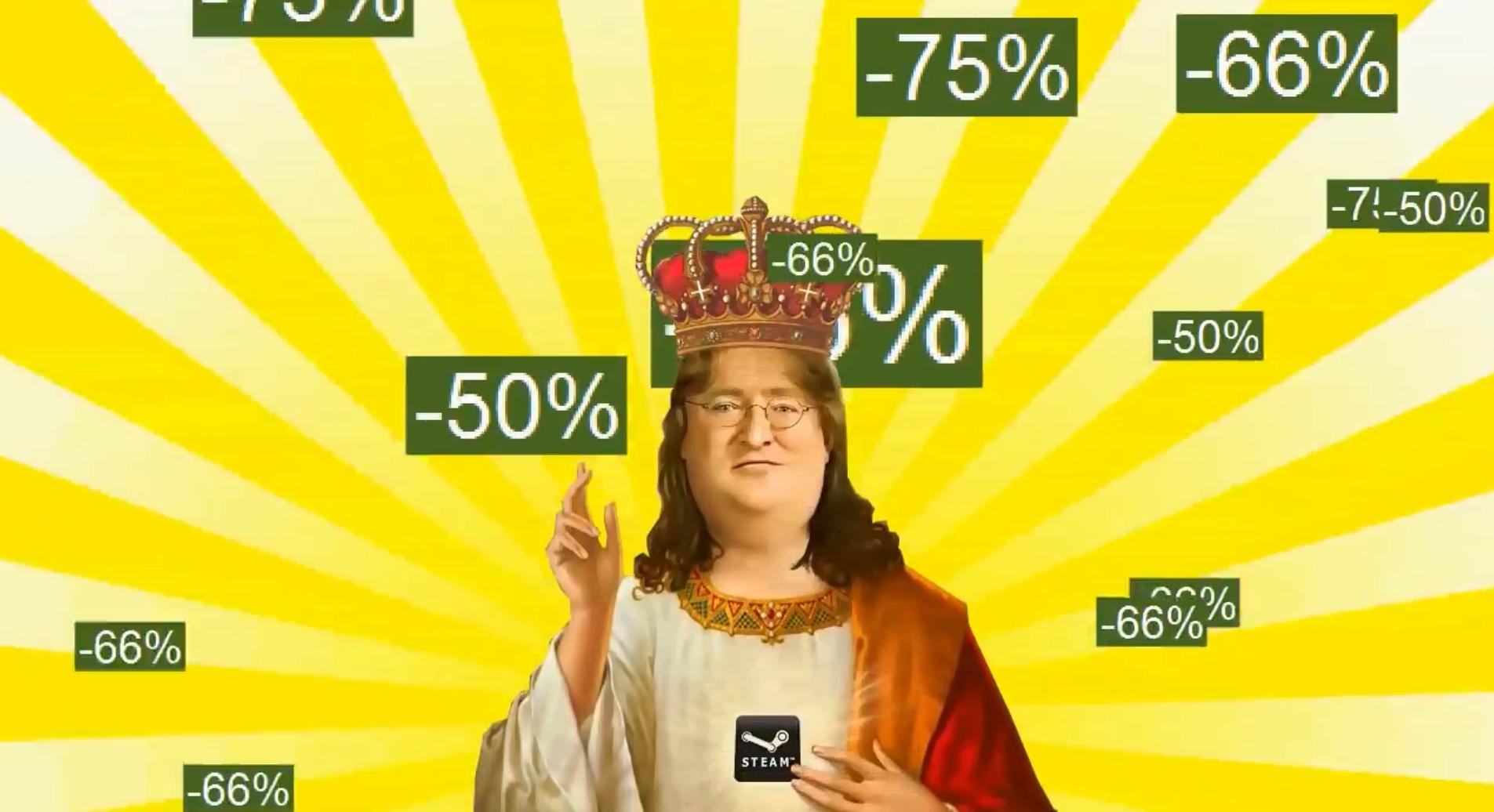 Como siempre, la bendición de Gabe Newell parece haber ayudado a que las ofertas de invierno de Steam sean un éxito.